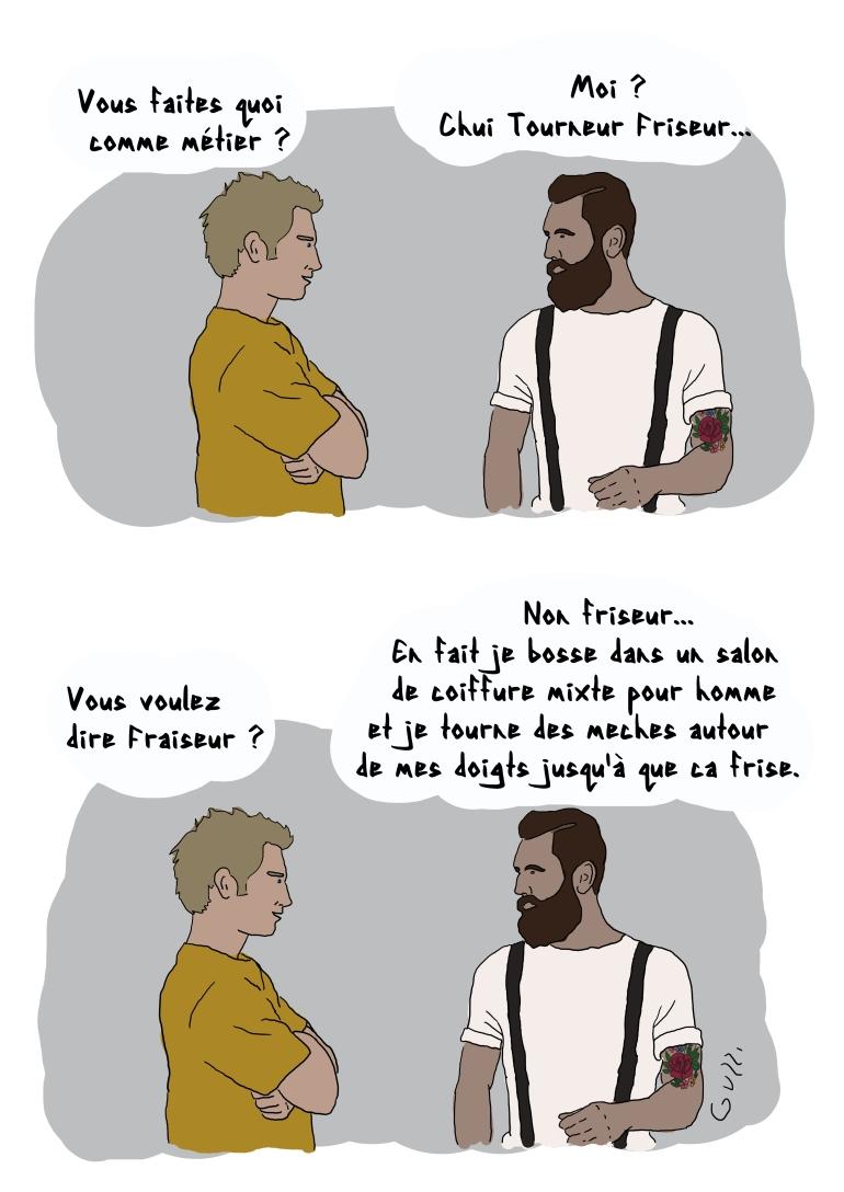 TOURNEUR FRISEUR