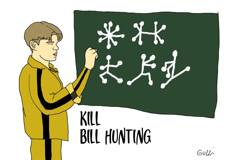 kill bill hunting